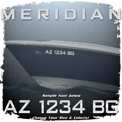 Meridian Registration (2 included), Choose Your Own Colors