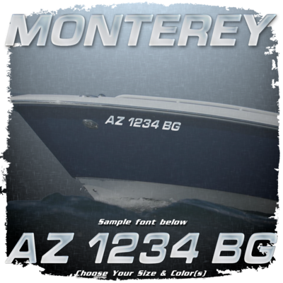 Monterey Registration (2 included), Choose Your Own Colors