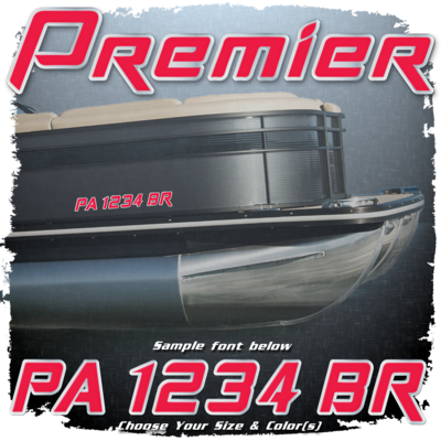 Premier Registration (2 included), Choose Your Own Colors