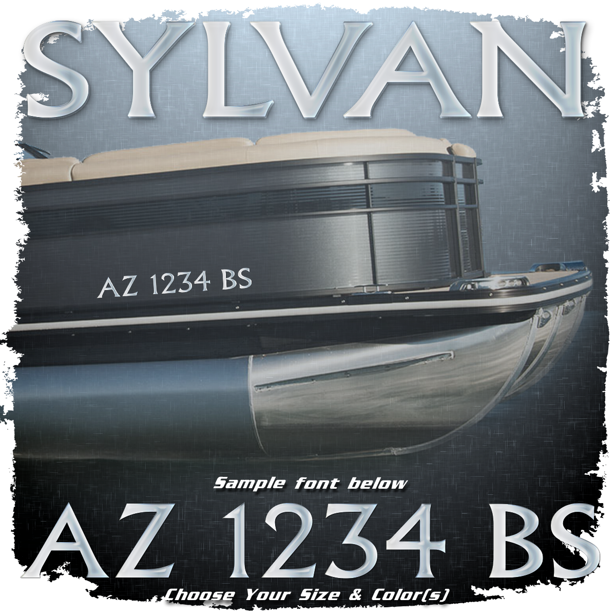 Sylvan Registration (2 included), Choose Your Own Colors