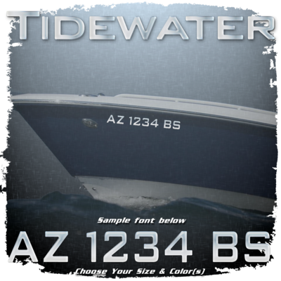 Tidewater Registration (2 included), Choose Your Own Colors
