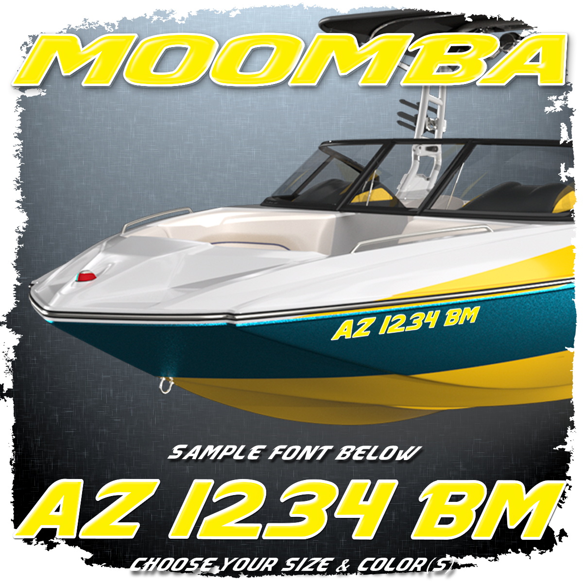 Moomba Registration (2 included), Choose Your Own Colors