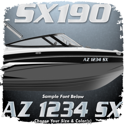 Yamaha SX190 Font Registration, Choose Your Own Colors (2 included)