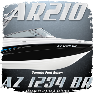 Yamaha AR210 Font Registration, Choose Your Own Colors (2 included)