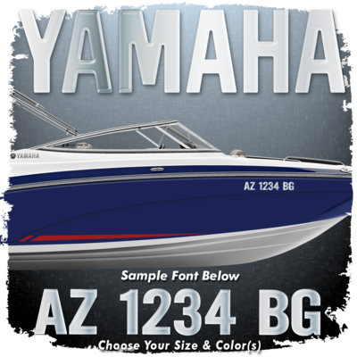 Yamaha Registration, Choose Your Own Colors (2 included)