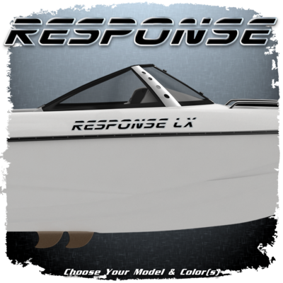 Malibu Response Decal Set, 2000-05, 2007,  Choose Your Model & Color  (2 included)