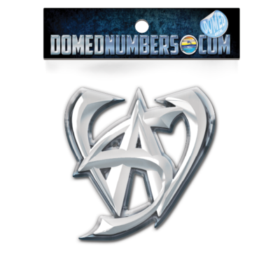 Domed Malibu Wakesetter WS Decal, Choose your size