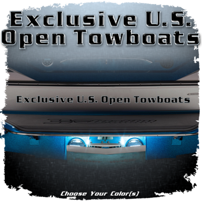 Exclusive U.S. Open Towboats Domed Decal, Choose Your Color(s)