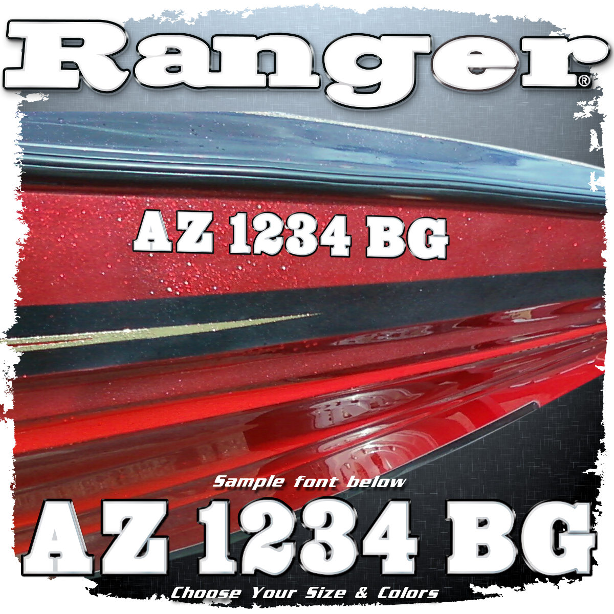 Ranger Registration, Choose Your Colors (2 included)