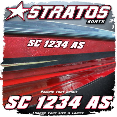 Stratos Registration, Choose Your Colors  (2 included)