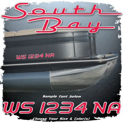 New South Bay Registration (2 included), Choose Your Own Colors