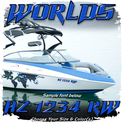 Supra Worlds Registration, Choose Your Own Colors (2 included)