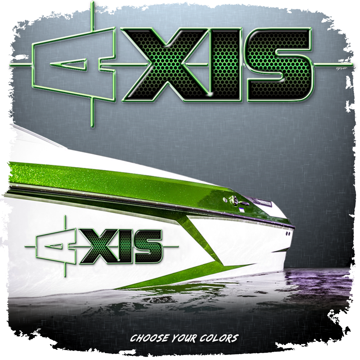 Domed Axis Hull Decal - 2012-14 Axis Grille Texture (1 Decal Included)