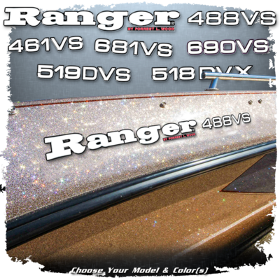 Ranger Boats with Model Number (2 included)