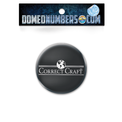 Domed Correct Craft Decal, Serif Version