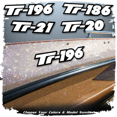 Domed Triton Model Decal, Choose Your Model (1 Decal Included)