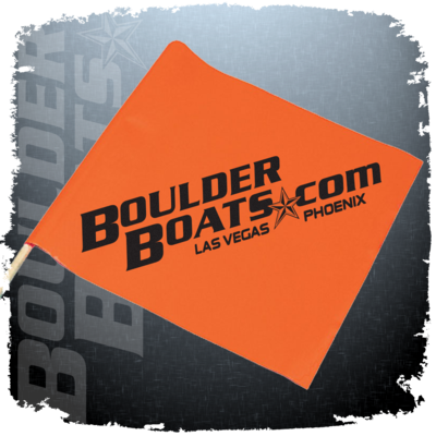 Skier Down Boat Safety Flag - Customize with Your Logo!