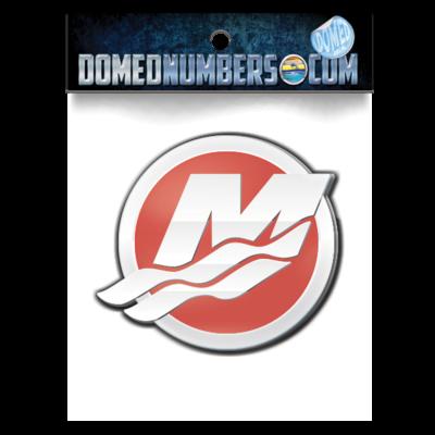 Mercury M, Red & Chrome