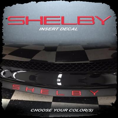 Shelby Splitter Domed Decal Insert