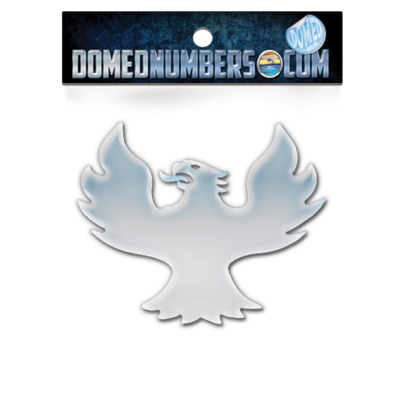 Domed Phoenix Boats - BIRD ONLY - Chrome