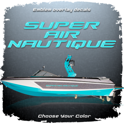 Nautique Overlay Domed Decal Package