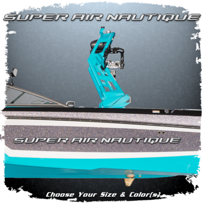 Domed Super Air Nautique Decal, Choose Your Size & Colors (1 included)