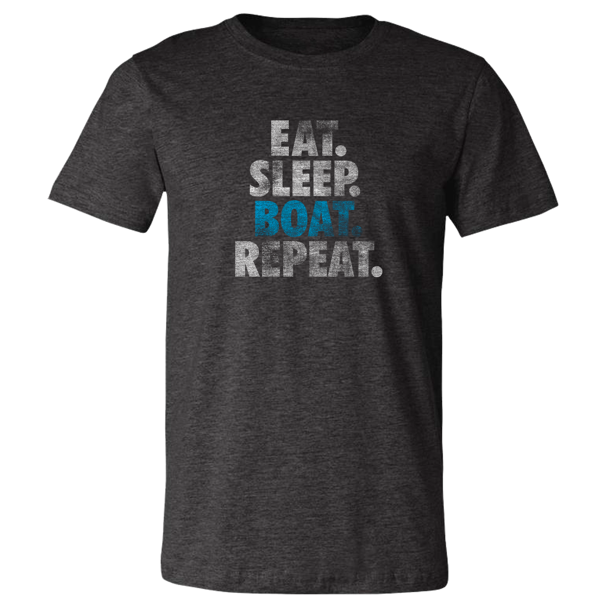 Eat, Sleep, Boat, Repeat - Vintage Soft Unisex T Shirt