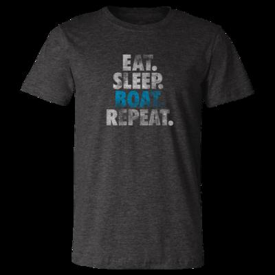 Eat, Sleep, Boat, Repeat - Vintage Soft Unisex T Shirt