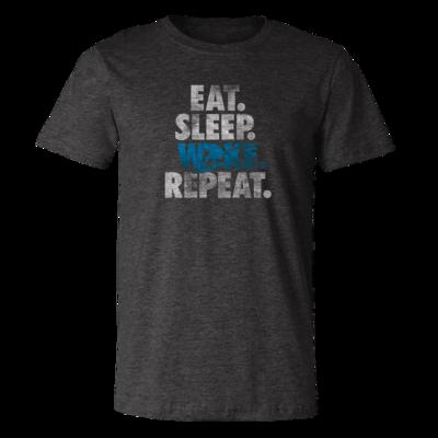 Eat, Sleep, Wake, Repeat - Vintage Soft Unisex T Shirt