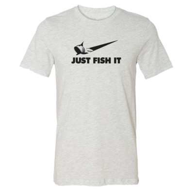 Just Fish It - Vintage Soft Unisex T Shirt