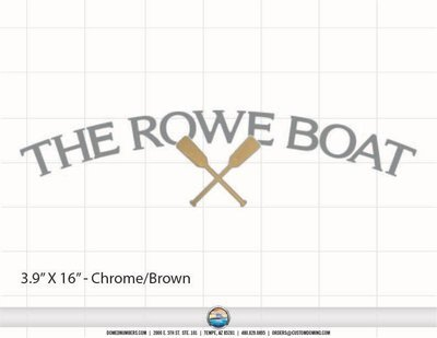 Boat Name: The Rowe Boat