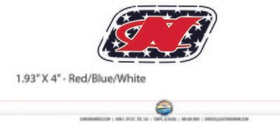 Domed Nautique USA Decal