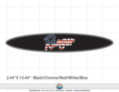 Ranger Boats Domed Decal for Coin Box