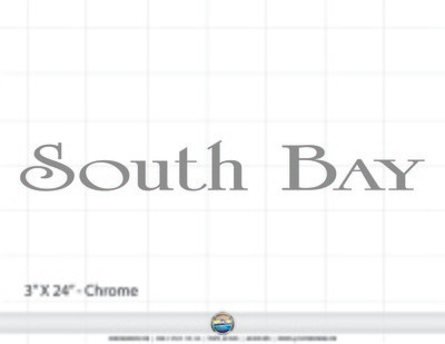 South Bay Brand Decal