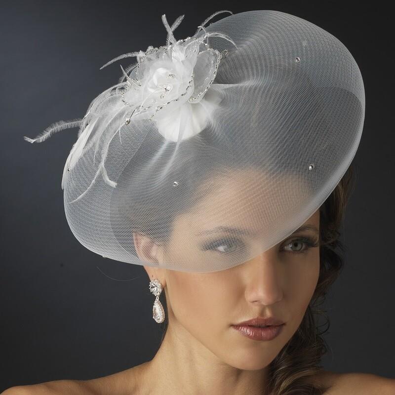 Tulle Visor Hat