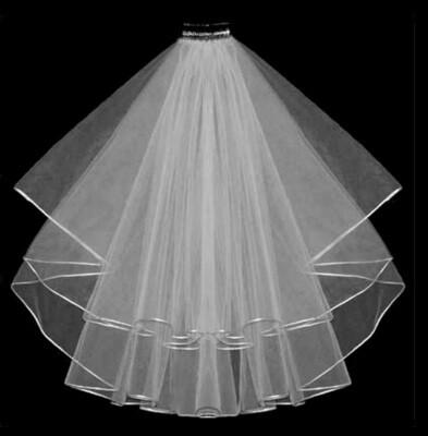 'Forever' Veil & Blusher