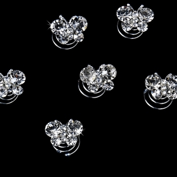 Silver Plated Butterfly Twist-Ins