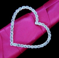 CRYSTAL HEART BUCKLE