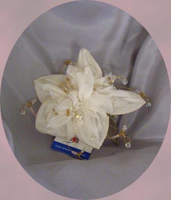 SOFT CHIFFON PETAL FLOWER