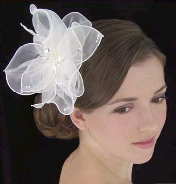 ORGANZA HAIR FLOWER