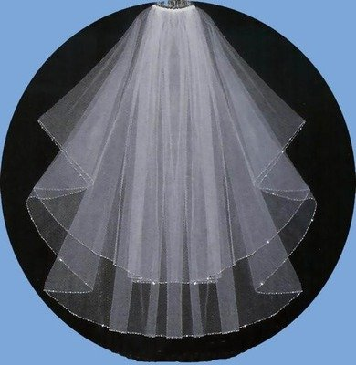 Plain Veil and Blusher