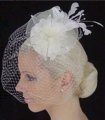 BIRDCAGE WITH  RHINESTONES  BY LC BRIDAL