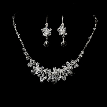 Swarovski Necklace Earring Set
