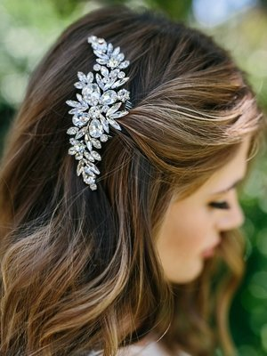 Rhinestone Bridal Hair Comb