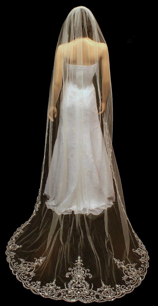 Extravagant Cathedral Veil by 1ST CLASS BRIDAL