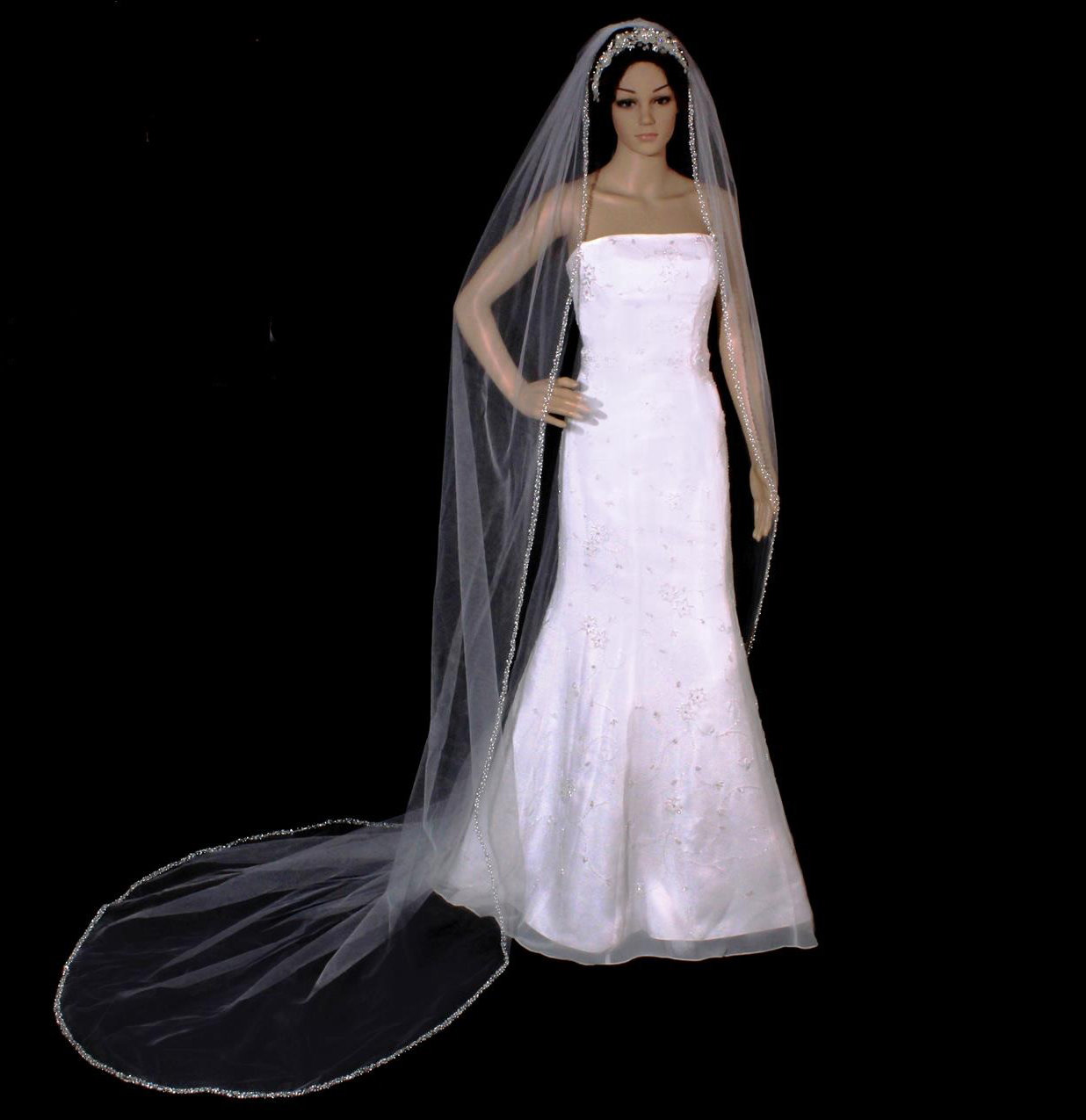 Stunning Cathedral Veil by 1ST CLASS BRIDAL