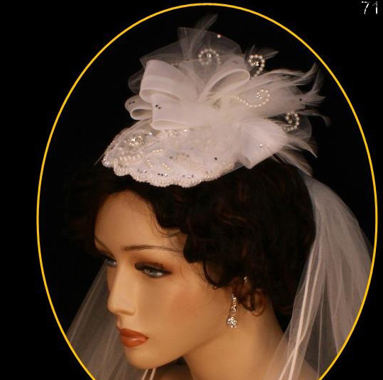 Runway Fashion Hat by 1ST CLASS BRIDAL