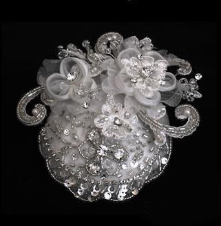 Distinctive Elegance Bridal Hat by 1ST CLASS BRIDAL