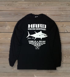 Long Sleeve Black Hard Merchandise T-Shirt