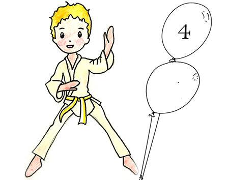 Judo 4 - 6 ans jeudi 16h45 -17h30